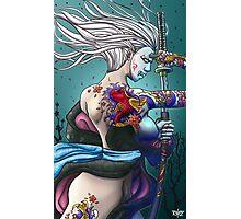 Samurai Girl Photographic Print