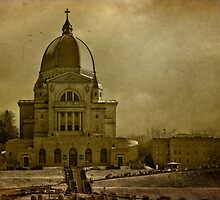 St Joseph's Oratory textured by PhotosByHealy