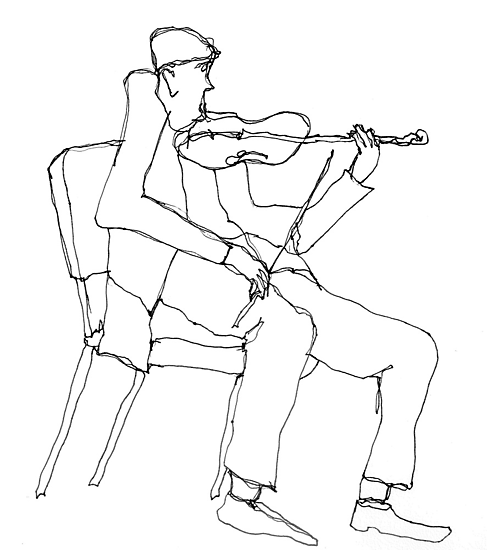 the violin seemed a bit flat by dthaase