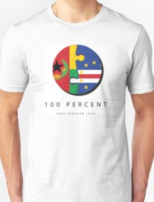 100% Cape Verdean Love Unisex T-Shirt