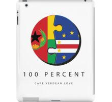 100% Cape Verdean Love iPad Case/Skin