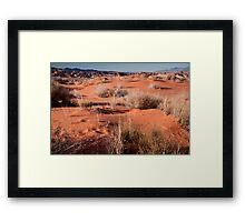 Desert Sands Framed Print