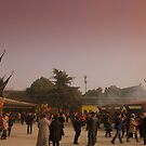 Changzhou Buddhist Temple during Spring Festival by Chris Millar