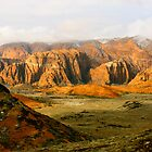 Snow Canyon at Sunrise by illPlanet