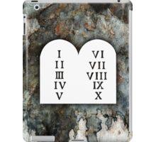 Ten Commandments iPad Case/Skin