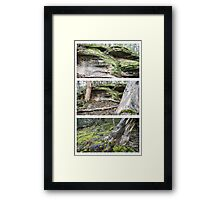 Flinders Chase Triptych Framed Print