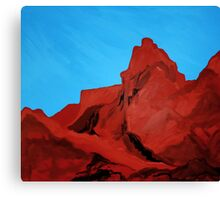 Camelback Mountain (View From Arcadia) Canvas Print