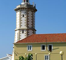 Farol da Guia Lighthouse by Marilyn Harris