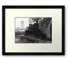 ALIENATED-3 Framed Print