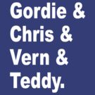 Gordie & Chris & Vern & Teddy 2 by NostalgiCon