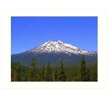 Mt Bachelor, Oregon Art Print