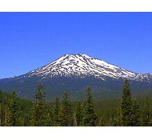 Mt Bachelor, Oregon Photographic Print