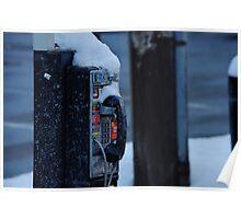 Frozen Calls Poster