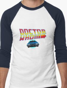 Back to Doctor Who Mash Up with Type 40 Delorean T-Shirt