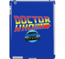 Back to Doctor Who Mash Up with Type 40 Delorean iPad Case/Skin