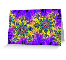 Charged Particles Greeting Card