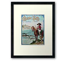 Gustave Fraipont Affiche PO LeCroisic Batz Framed Print