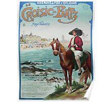 Gustave Fraipont Affiche PO LeCroisic Batz Poster