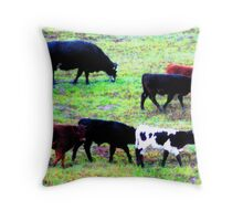 """Once you find him - he's easy to see"" Throw Pillow"