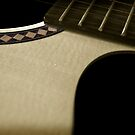 this old guitar... by Greg Carrick