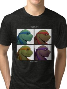Turtlez: Pizza Dayz Tri-blend T-Shirt