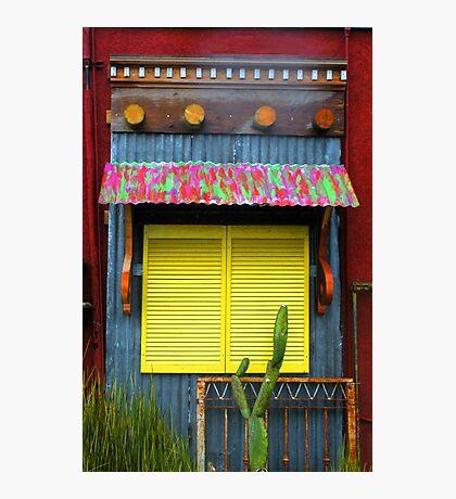 """""""Yellow Shutters"""" Photographic Print"""