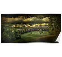 Hudson River Meadow Poster