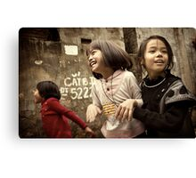 The Joys of Youth #0102 Canvas Print