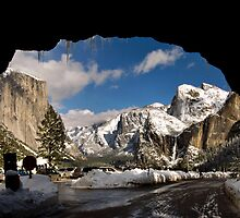 The Real Tunnel Veiw in Winter by Clyde  Smith