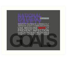 Safety Goals Art Print