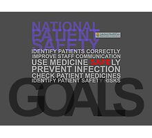 Safety Goals Photographic Print