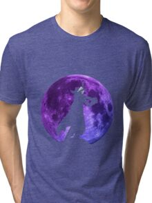 one piece mihawk hawk eyes zoro anime manga shirt Tri-blend T-Shirt