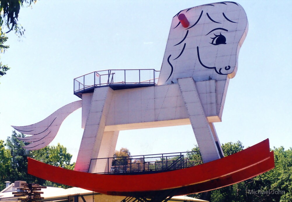 The Big Rocking Horse by Michael John