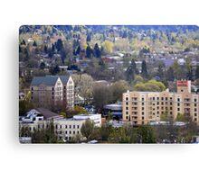 Eugene, Oregon, City Scape Metal Print