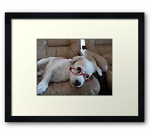 That Was Just The Best Book Ever!! Framed Print