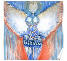 """"""" I AM """" ~ Earth Angel Vessel ~ the OverSelf Healing with Light Poster"""