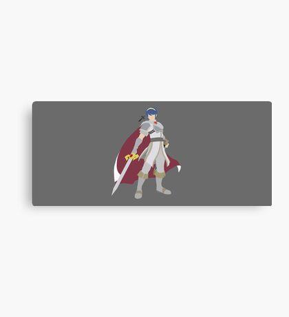 Marth (White) - Super Smash Bros. Canvas Print