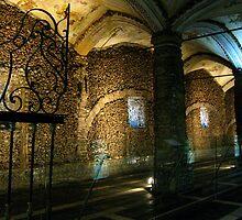Inside the Chapel of Bones by Marilyn Harris