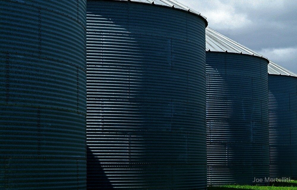 silos by Joe Mortelliti