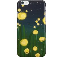 Summer Fireflies iPhone Case/Skin