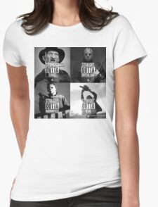 Horror Foursome Womens Fitted T-Shirt