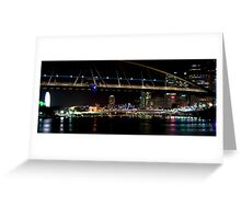 Distant view Brisbane Greeting Card