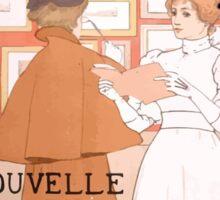 Armand Rassenfosse Salon affiche 2 Rassenfosse Sticker