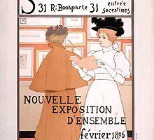Armand Rassenfosse Salon affiche 2 Rassenfosse by wetdryvac