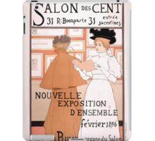 Armand Rassenfosse Salon affiche 2 Rassenfosse iPad Case/Skin