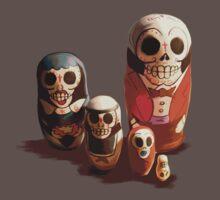 Sugar Skull Family One Piece - Short Sleeve