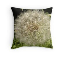 Another Boring Dandelion Fairy Throw Pillow