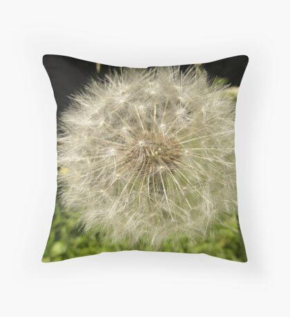 Another Boring Dandelion Fairy Throw Pillow