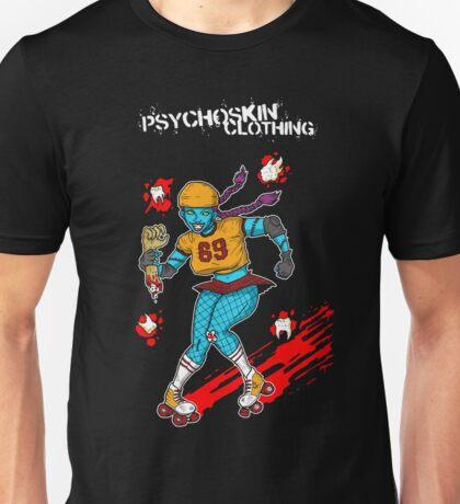 Psychoskin Rollergirl Unisex T-Shirt