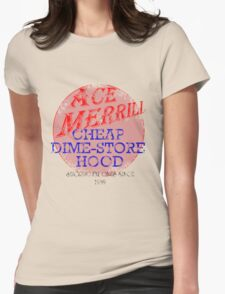 Ace Merrill Retro 1 Womens Fitted T-Shirt